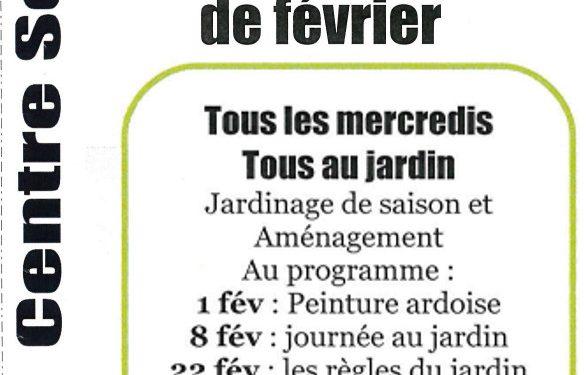 """""""Tous au Jardin"""" en février à Lapanouse"""