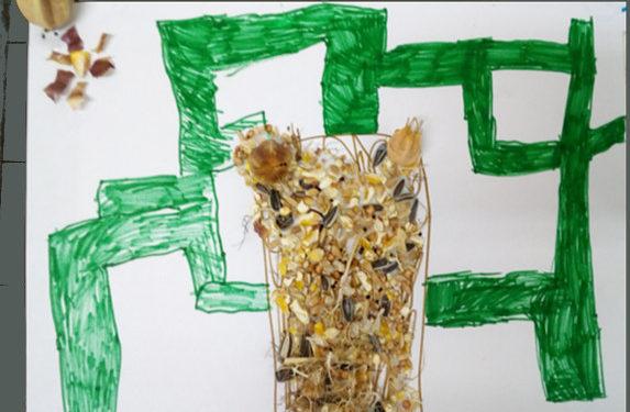 Qu'est ce qui pousse à l'école? Des graines de jardiniers!