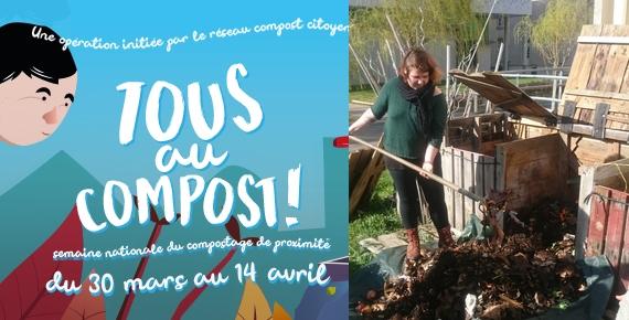 Tous au compost: Comploter et Composter, c'est Incroyable!
