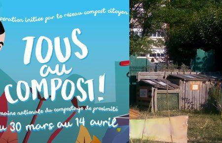 Tous au compost : Composter au jardin de Lapanouse