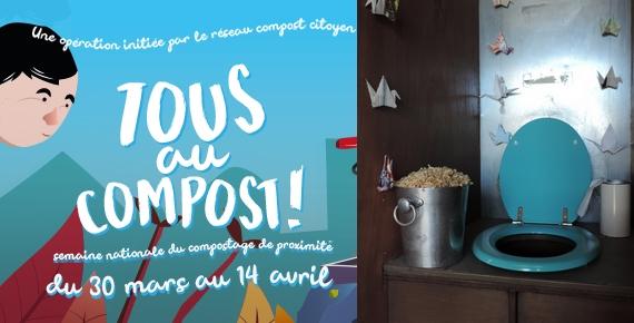 Tous au compost : formation au compostage des toilettes sèches