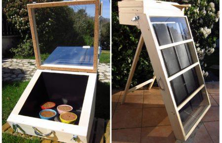 Atelier fabrication de fours et séchoir solaires