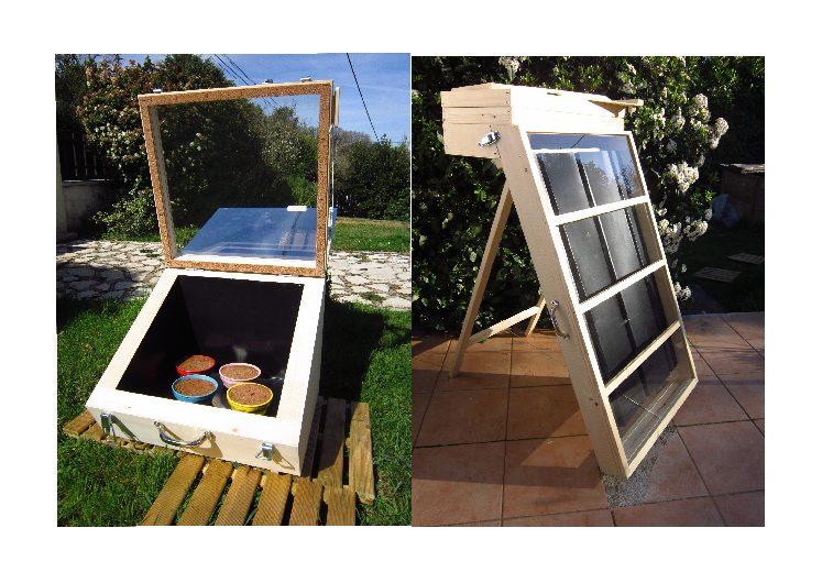 Fabriquez votre séchoir ou four solaire avec Thierry Fougère